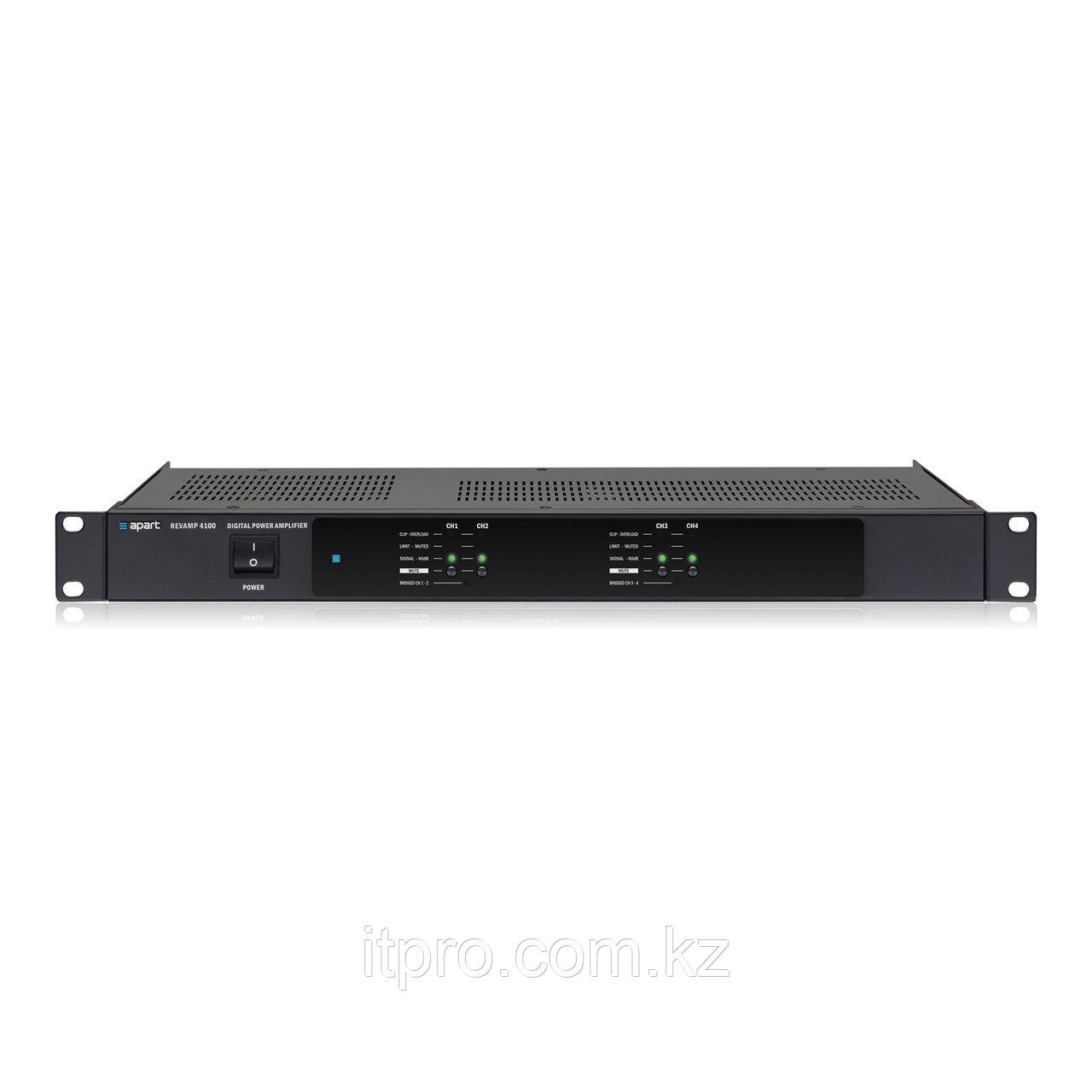 Усилитель мощности 4-х канальный Apart REVAMP4100