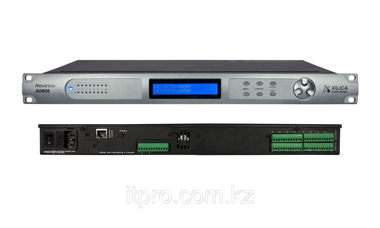 DSP-аудиопроцессор Xilica Neutrino A0808