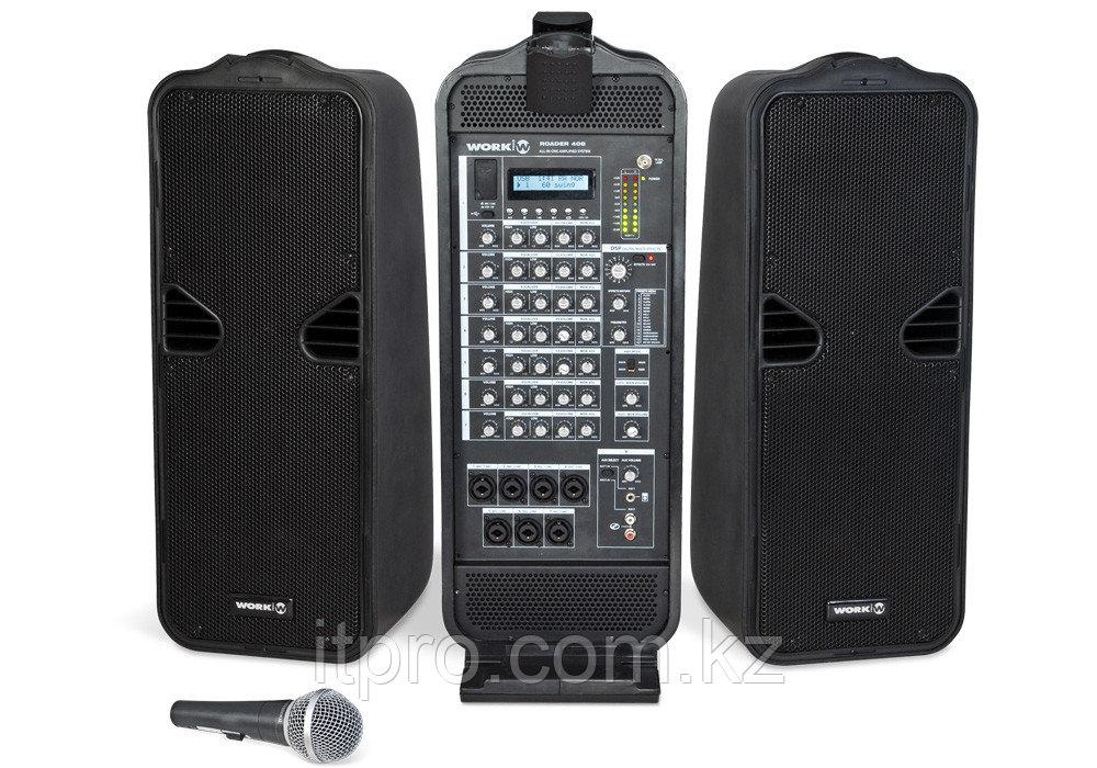 Мобильный акустический комплект Work Roader 408 (2x250Вт)
