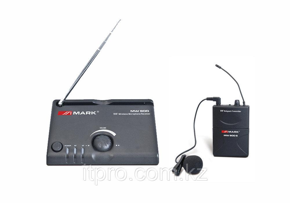 Беспроводной петличный микрофон MARK MW 800 S