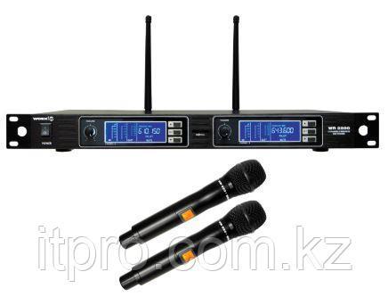 Комплект из 2-х беспроводных микрофонов WORK WR 2200/1, 2x200 каналов