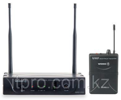 Беспроводной петличный микрофон WORK WRD 255/2, 1 канал UHF