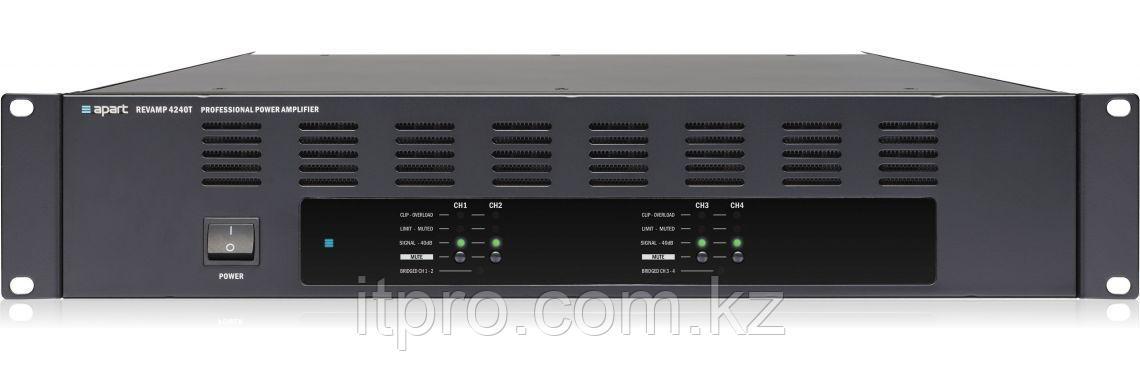 Трансляционный усилитель 4-х канальный Apart REVAMP4240T
