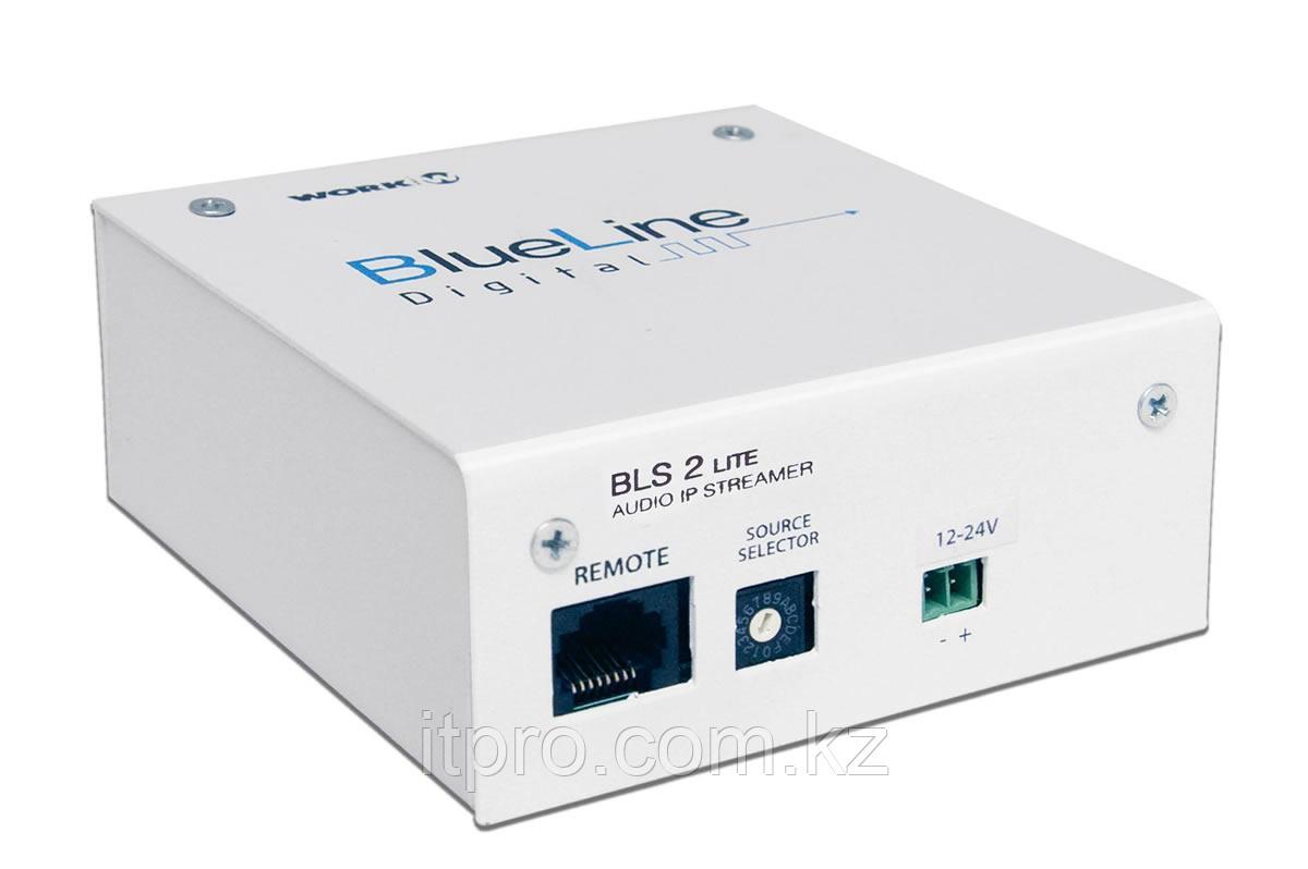 Стерео IP передатчик аудиосигнала WORK BLS 2 Lite BlueLine Digital
