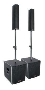 Акустический комплект Mark SET MK BIGMAN 1000 A (400W+100W), пара