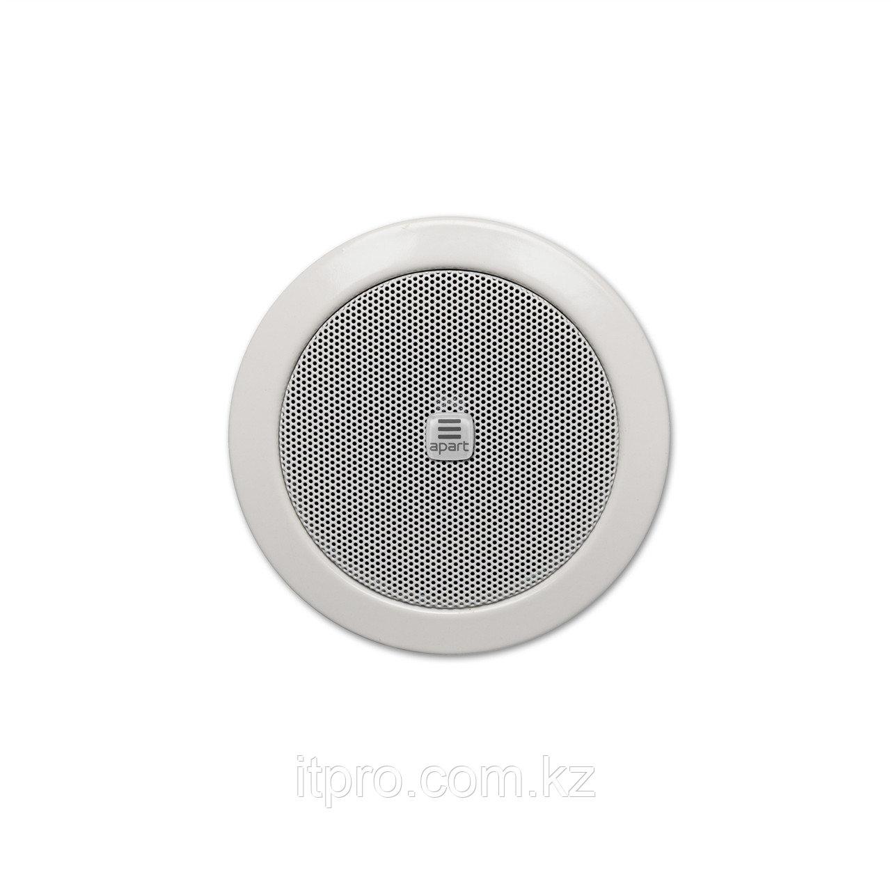 """Потолочный громкоговоритель Apart CM3T, 6Вт(100В) / 20Вт(16 Ом), 3"""", белый"""