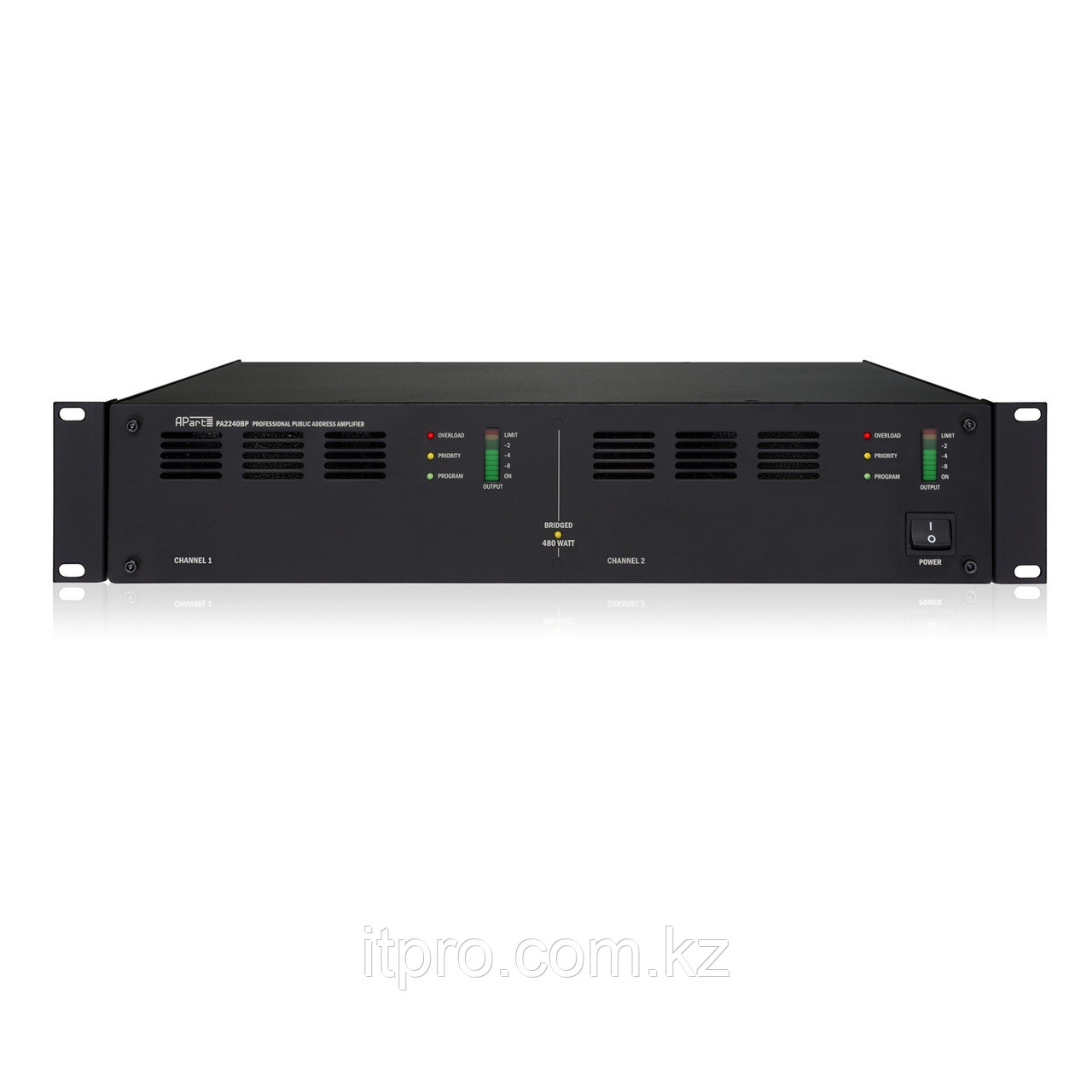 Трансляционный усилитель 2-х канальный Apart PA2240BP