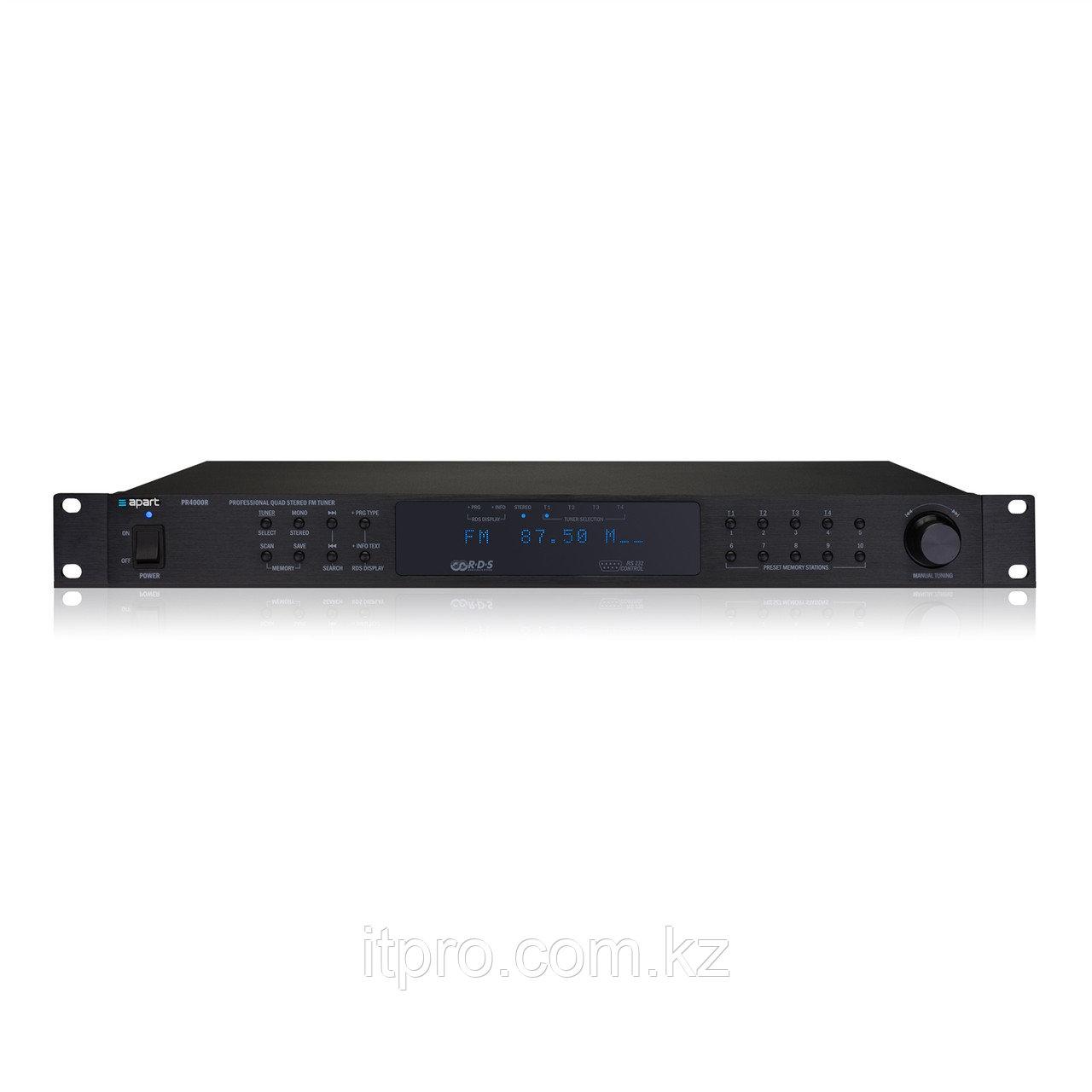 Радиотюнер 4-х канальный Apart PR4000R
