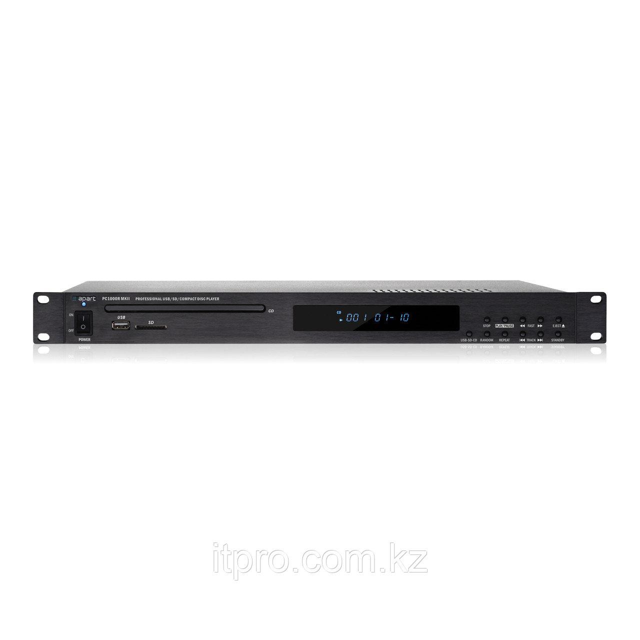 Apart PC1000RMKII. CD/MP3 проигрывватель, USB, SD-карта, контроль по RS232 c д/у