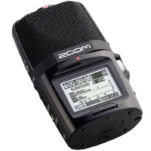 Портативный ручной цифровой аудиорекордер (диктофон) Zoom H2n