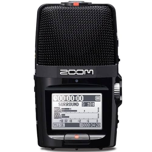 Диктофон цифровой аудиорекордер Zoom H2n - фото 2