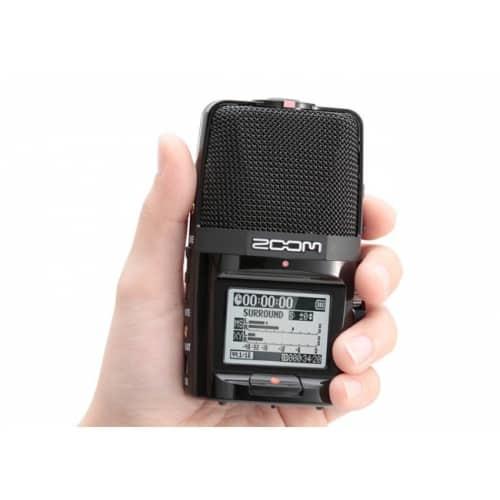 Диктофон цифровой аудиорекордер Zoom H2n - фото 6
