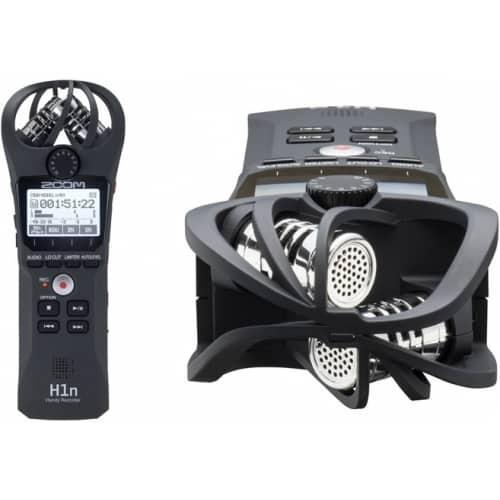Портативный цифровой диктофон (аудиорекордер) Zoom H1n