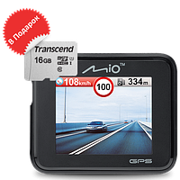 Видеорегистратор Mio MiVue C330 new + microSD 16 Gb