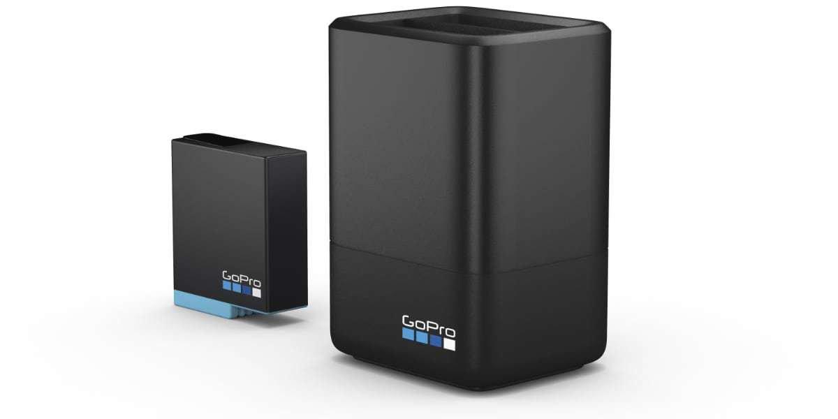 Зарядное устройство для двух аккумуляторных батарей HERO8 GoPro 8 AJDBD-001-EU