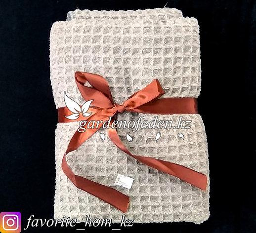 Подарочный комплект полотенец. Материал: Махровая ткань. Цвет: Коричневый., фото 2