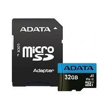 ADATA AUSDH32GUICL10A1-RA1 карта памяти microSDHC, 32GB, UHS-I Class 10 A1 + SD adapter