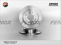 Диск тормозной FENOX TB215327 задний