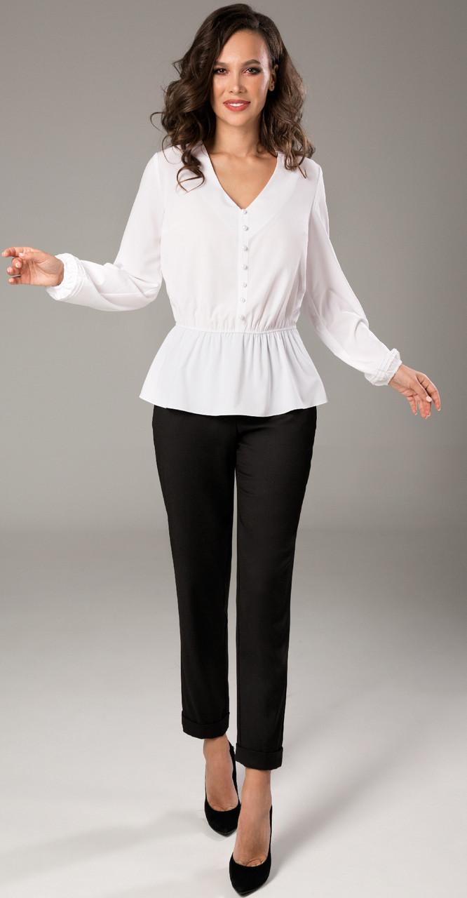Блузка TEFFI style-1468, молочная, 52