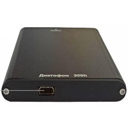 Цифровой мини диктофон Edic-mini 24bs A54 300h с наушниками и стереозаписью