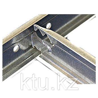 Албес Россия направляющая Т15 металлик для подвесного потолка