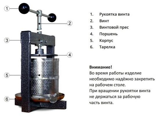 """Пресс для сока """"Магарыч СПМ-15"""""""