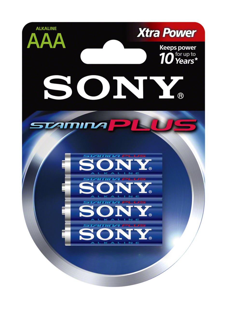 Батарейки Sony Plus AAA (4шт)
