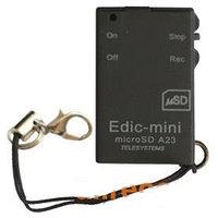 Мини диктофон Edic-mini microSD A23
