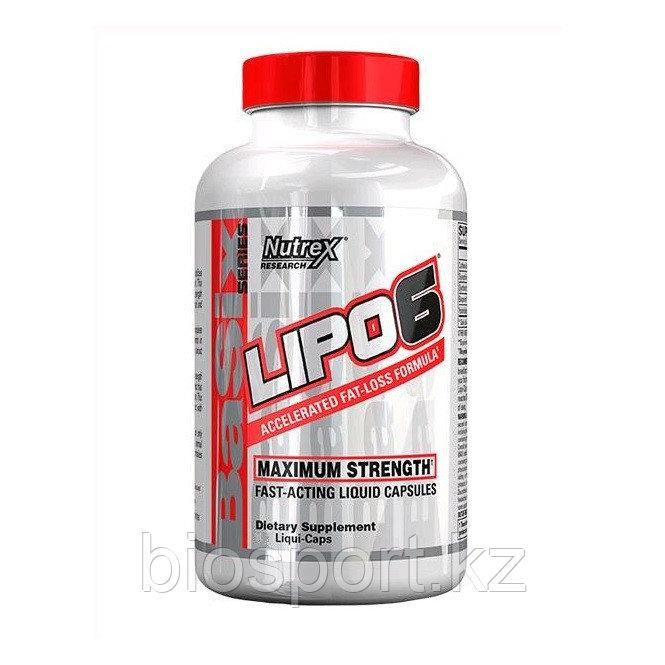 Жиросжигатель Nutrex Lipo-6 120 капсул