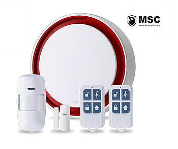 Комплект Wi-Fi GSM сигнализация + управление бытовыми приборами