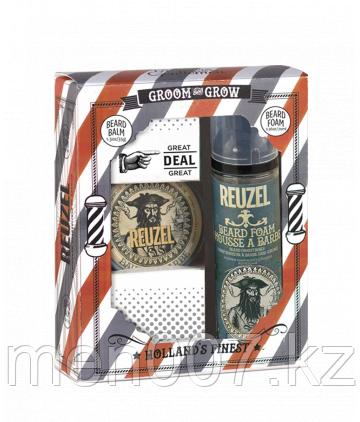 Набор Shave & Beard Reuzel (бальзам и мусс для бороды)