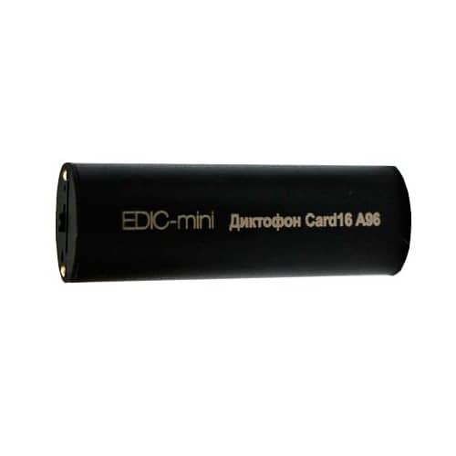 Миниатюрный цифровой диктофон с записью на microSD карту EDIC-mini СARD16 A96M