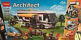 """Конструктор Decool 3117 Architect (аналог лего Lego Creator 31052) """"Кемпинг 3 в 1"""" 792 дет, фото 3"""