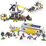 """Конструктор Decool 3117 Architect (аналог лего Lego Creator 31052) """"Кемпинг 3 в 1"""" 792 дет, фото 7"""