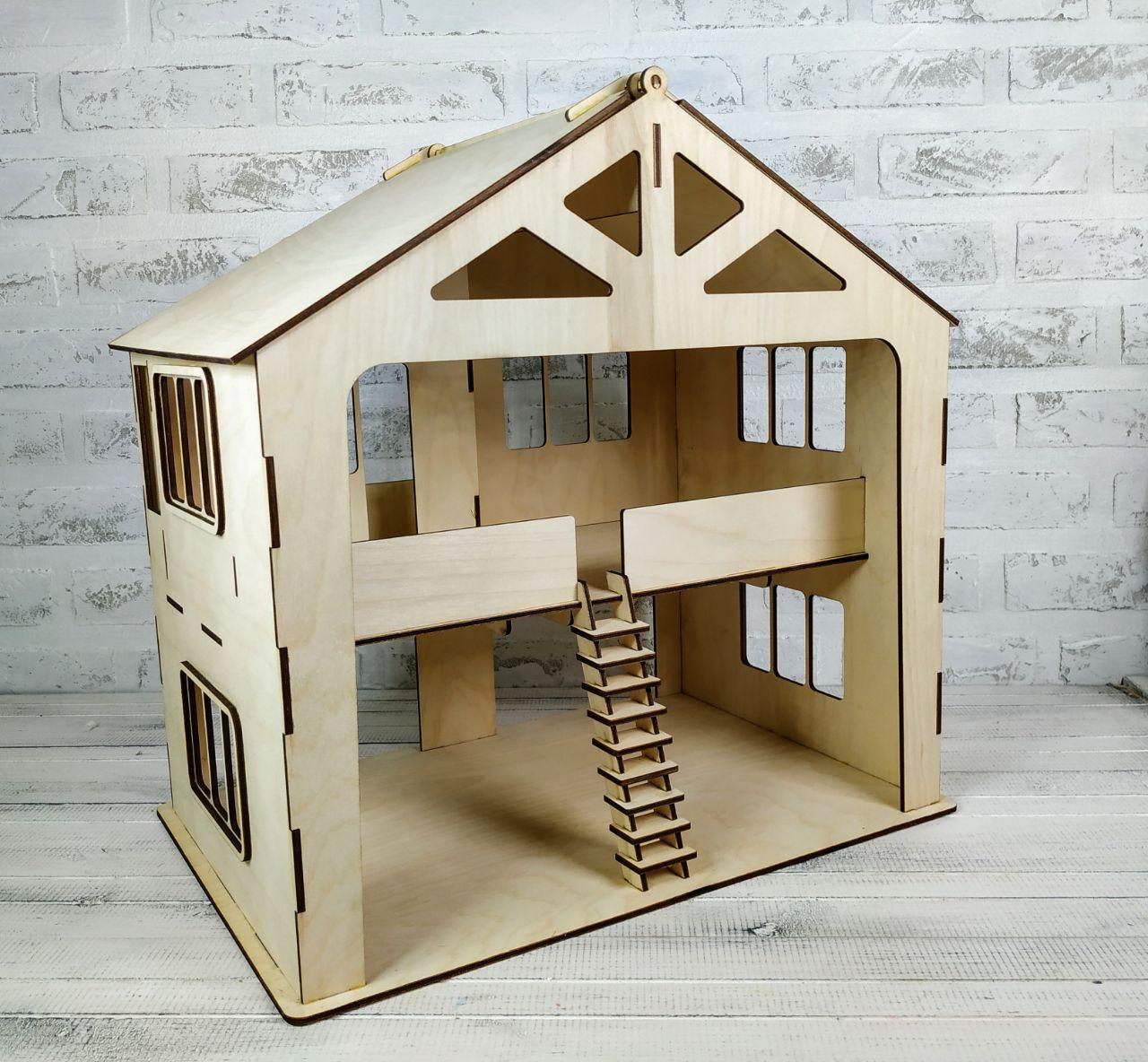 Кукольный домик с гаражом