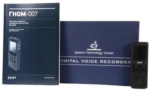 """Цифровой диктофон """"Гном-007"""" укомплектован инструкцией по эксплуатации, позволяющей быстро вникнуть в доступные в нем функции"""