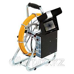 Katimex 104001MV - система видеодиагностики трубопроводов серии KIS-50 с цифровым измерителем длины, LCD дисплеем и цифровым видео рекодером с картой
