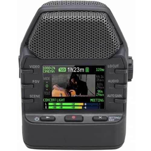 Портативный ручной цифровой аудио и видеорекордер Zoom Q2n
