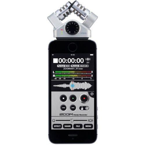 Внешний микрофон Zoom iQ6 для смартфона - фото 1