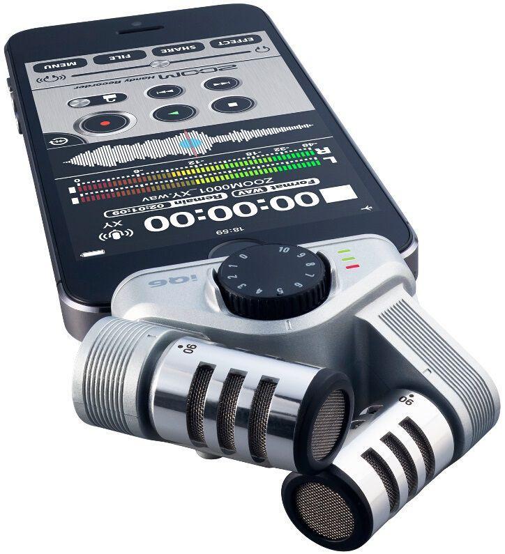 Внешний микрофон Zoom iQ6 для смартфона - фото 6