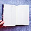 Ежедневник недатированный В6, 160 листов Florence, искусственная кожа цветной срез, чёрный, фото 5