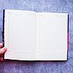 Ежедневник недатированный В6, 160 листов Florence, искусственная кожа цветной срез, чёрный, фото 7