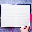 Ежедневник недатированный В6, 160 листов Florence, искусственная кожа цветной срез, чёрный, фото 9