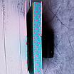 Ежедневник недатированный В6, 160 листов Florence, искусственная кожа, цветной срез, розовый, фото 3