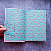 Ежедневник недатированный В6, 160 листов Florence, искусственная кожа, цветной срез, розовый, фото 2