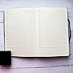 Ежедневник недатированный А5, 136 листов Powder pink foil, искусственная кожа, фото 9