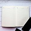 Ежедневник недатированный А5, 136 листов Powder pink foil, искусственная кожа, фото 10