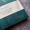 Ежедневник недатированный В6,  Palm leaves, искусственная кожа, фото 2