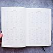 Ежедневник недатированный А5, 136 листов Memphis, искусственная кожа, фото 6