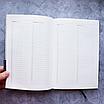 Ежедневник недатированный А5, 136 листов Memphis, искусственная кожа, фото 9